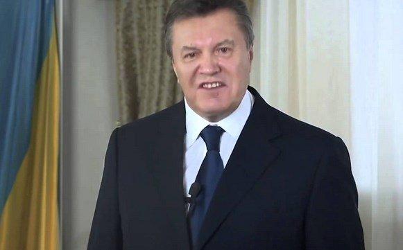 Янукович выступил засохранение территориальной целостности Украины