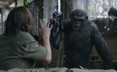 В сети появился трейлер «Войны планеты обезьян»