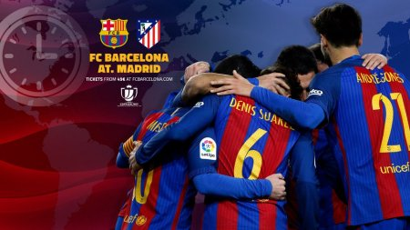«Барселона» — «Атлетико» 07 февраля 2017: смотреть онлайн, прогноз на матч Кубка Испании