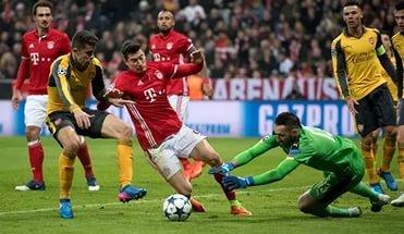 Прогноз на матч ЛЧ. Арсенал - Бавария, 7 марта 2017, 22:45 МСК, смотреть онлайн